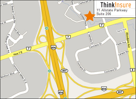 ThinkInsure Map and Directions