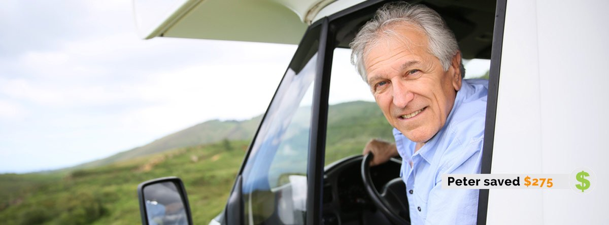 Peter Saved $275 on Recreational Vehicle Insurance