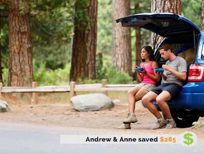 Andrew and Anne Saved $285 on Insurance with ThinkInsure