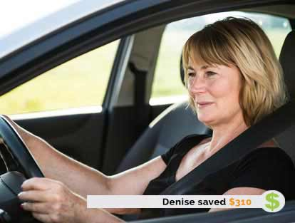 Denise Saved $310 on Insurance with ThinkInsure
