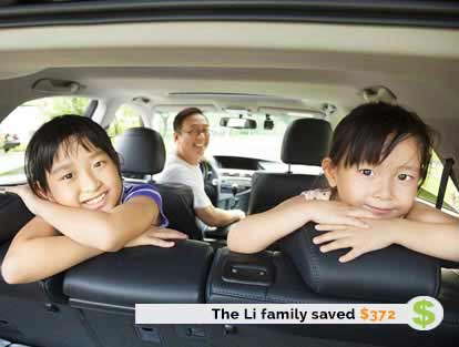 The Li family Saved $372 on Insurance with ThinkInsure