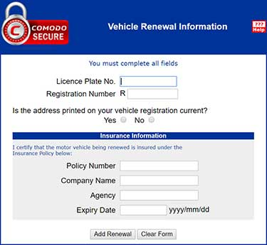 Alberta Vehicle Registration, Register Car, Renewal, Costs, FAQS