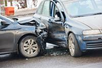 Side swipe car accident