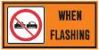 do not pass construction sign
