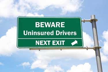 Driving with out insurance in Ontario
