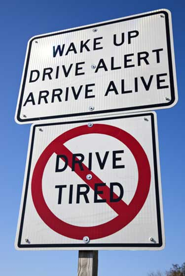 Drowsy Driving Law