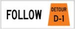 follow detour