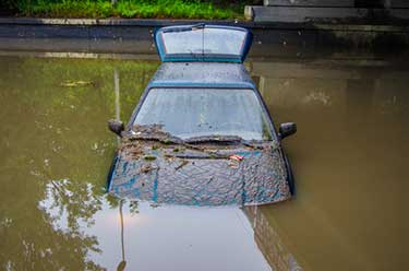 Is water damage covered by car insurance