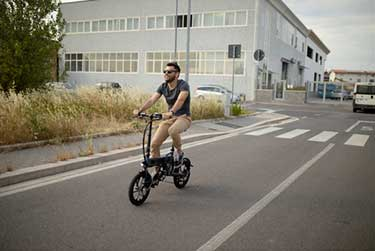 parked electric bike