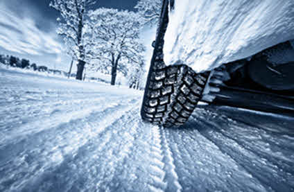 Winter Driving Tips - Use Winter Tires