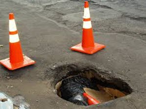 Spring driving safety and potholes