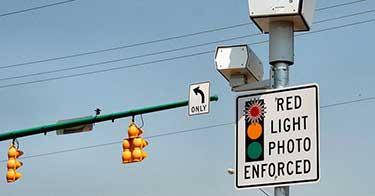 red light camera ticket