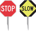 reduce speed or slow down
