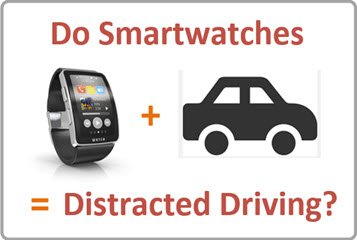 Will Smartwatches like the new Apple Watch create even more distractions for Ontario drivers?