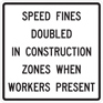 speed fines doubled
