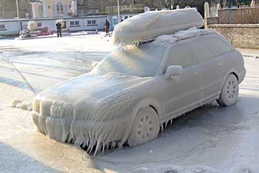 Weather damage and car insurance coverage